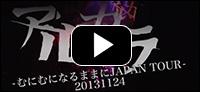 LIVE DVD「20131124~むにむになるままにJAPAN TOUR~」
